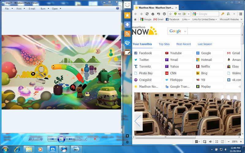 Windows 7 Snap assist - Windows 7 vs Windows 10