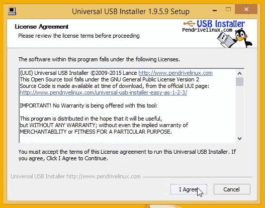 UUI - Accept License