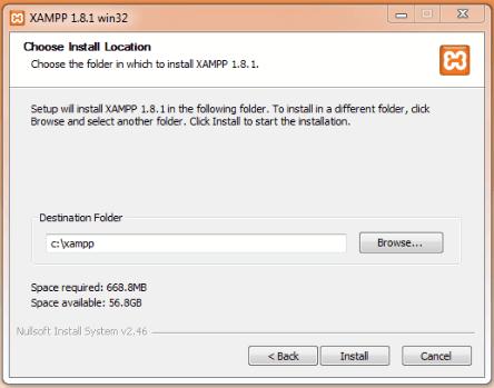 install location